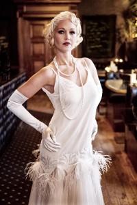 Claudette - Twenties Wedding Dress