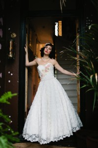 Fifties Wedding Dresses - Connie