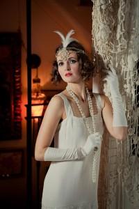 Gloria - Twenties Wedding Dress