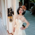 Retro Wedding Dress - Kim