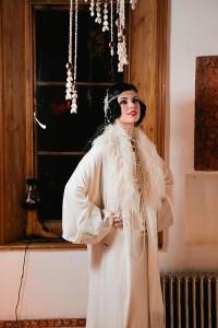 Lilian - Twenties Wedding Coat