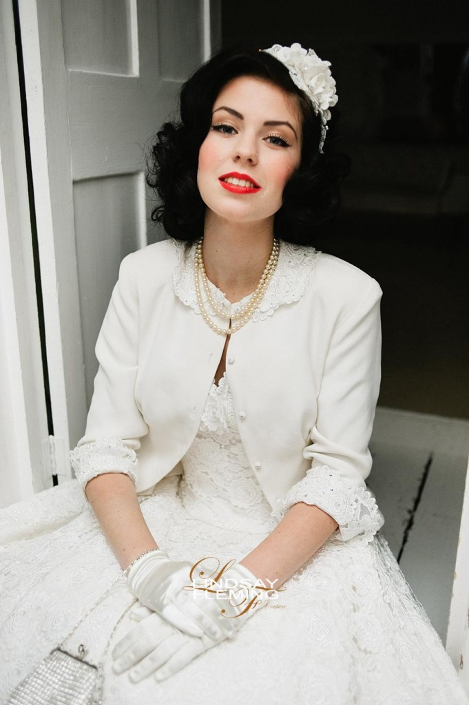 Fifties Inspired Wedding Dress - Connie, by Lindsay Fleming Couture