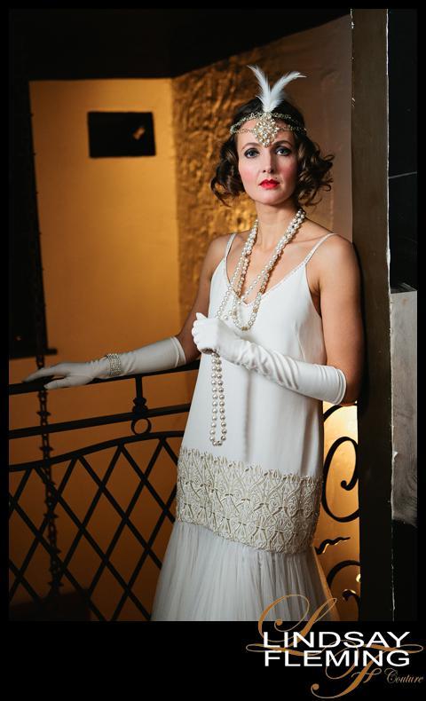Clara 1920s Wedding Dress