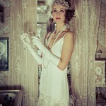 Twenties Wedding Gown - Claudette (from Bette -1920s Lace Wedding Gown)