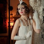 Twenties Wedding Dress – Gloria (from Bette -1920s Lace Wedding Gown)