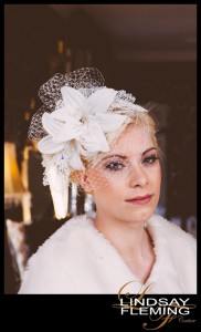 Isabella - Silk Lily Headdress