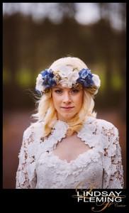Romano - Silk Flower Headdress