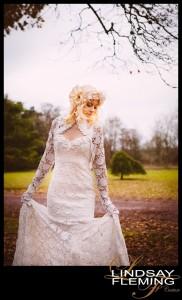 Isela - Luxurious bespoke lace wedding dress